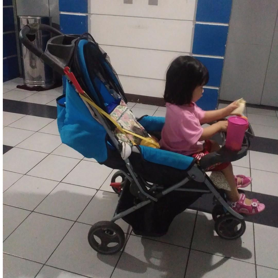 Preloved Stroller Pliko 3 Posisi