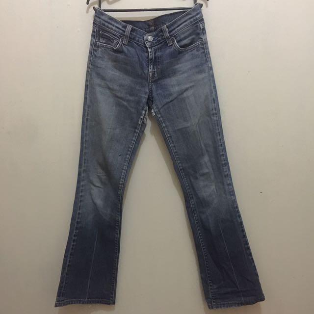 Preloved Us Branded Denim Jeans