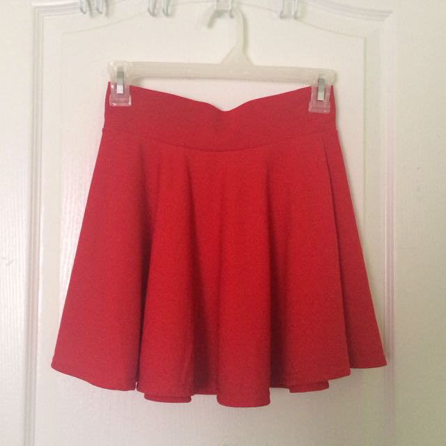 Red Skirt Size XS-S