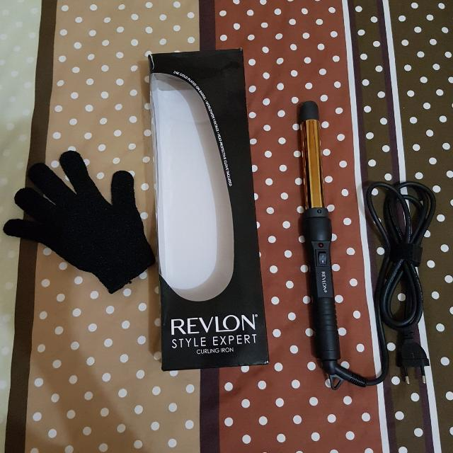 Revlon Curling Iron / Alat Pengeriting Rambut