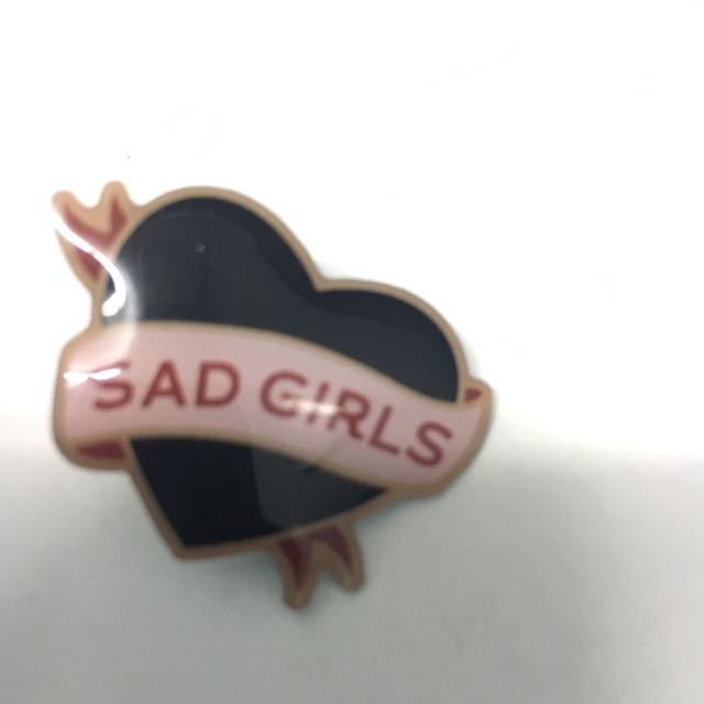 Sad Girls - Lang Leav (with Limited Edition Pin)
