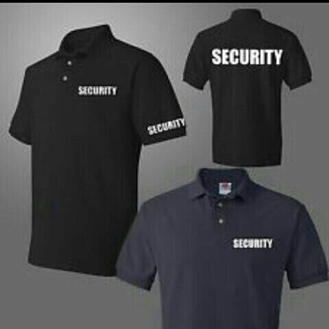 10e33adf Security Polo Shirt, Men's Fashion, Clothes on Carousell