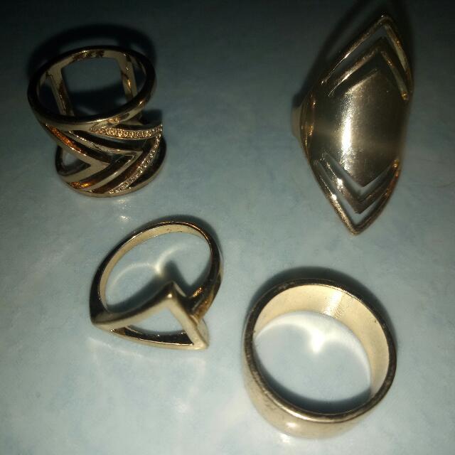 Set Of Boho Ring