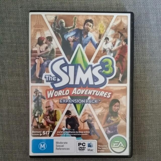 Sims 3 Word adventures
