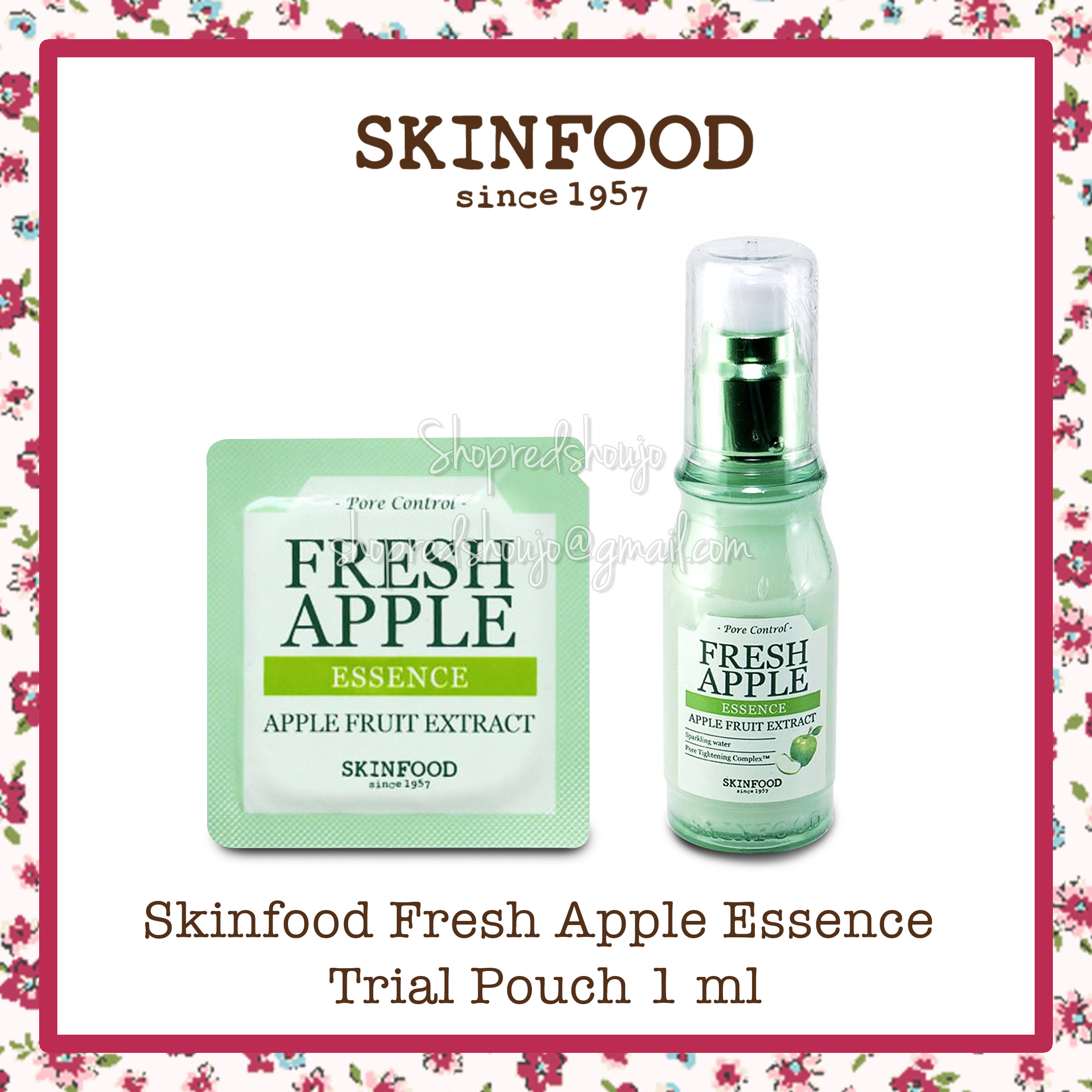 Skinfood Fresh Apple Essence Trial Pouch 1 ml