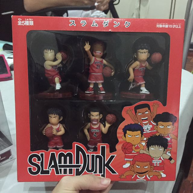 Slam Dunk Action Figures