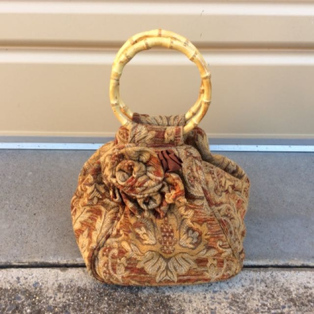 SMALL TAPESTRY HAND BAG