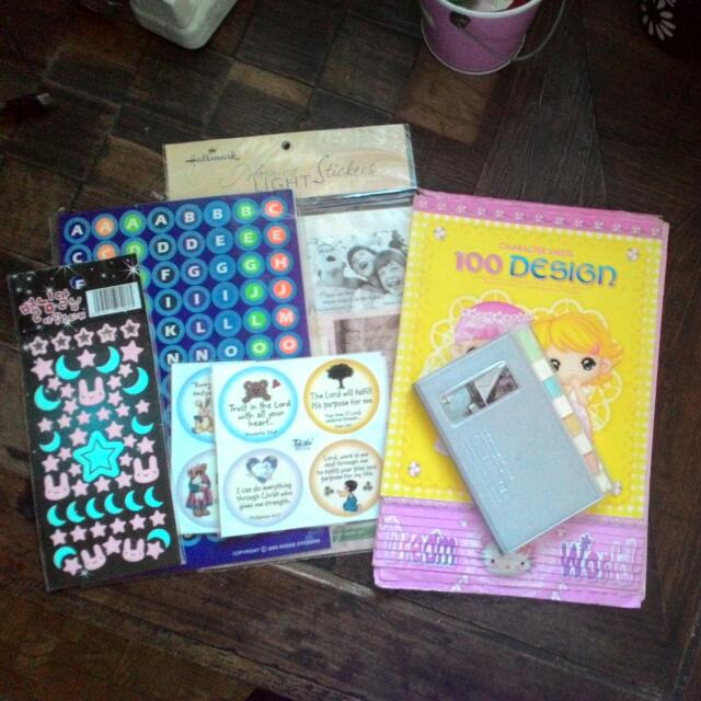 <repriced> Stickers And Stationaries