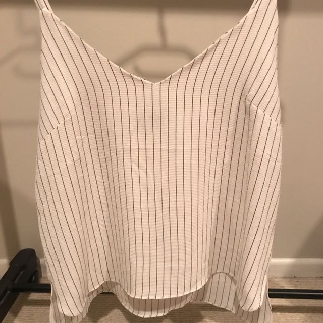 Stripped Strapped Top!