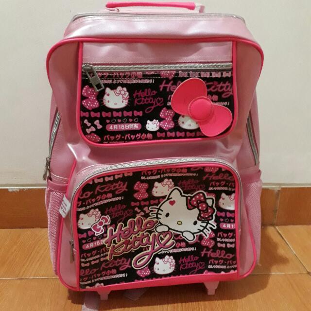 Tas Dorong Hello Kitty