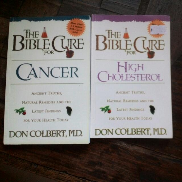 The Bible Cure For Cancer+High Cholesterol
