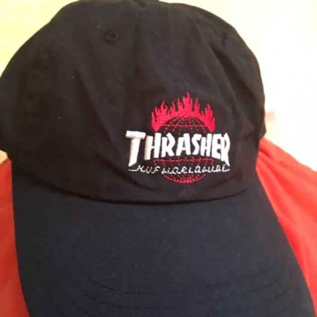 Thrasher x Huf Baseball Hat