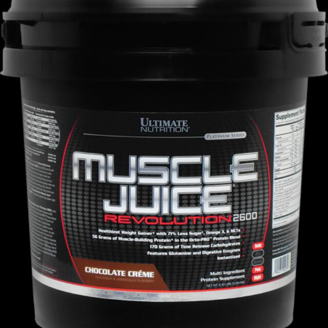 11.1lbs Ultimate Nutrition Muscle Juice®Revolution 2600, Sports, Sports & Games Equipment on Carousell
