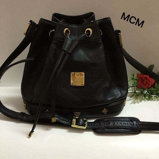 Urgent Authentic Mcm Bucket Bag Luxury Bags Wallets On Carou