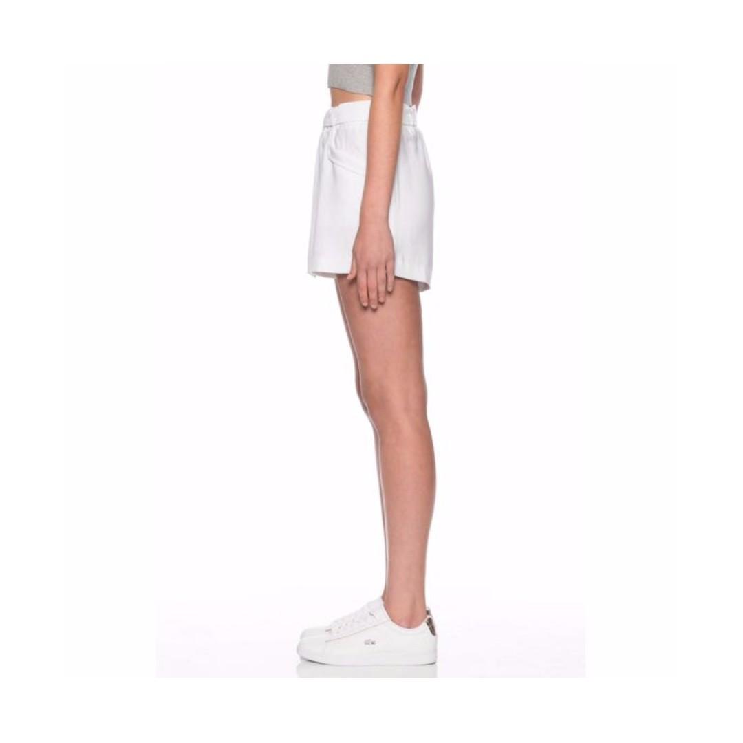 Victoria & Woods Tie Front White Shorts Sz XS