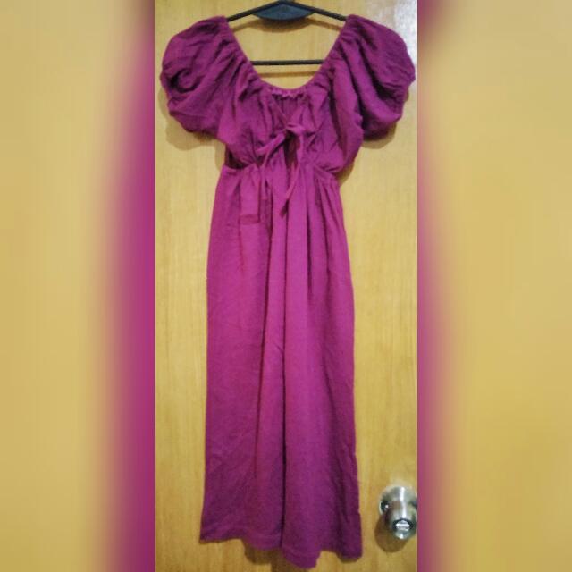 Violet Long Dress