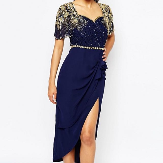 Virgos Lounge Laila Embellished Midi Dress