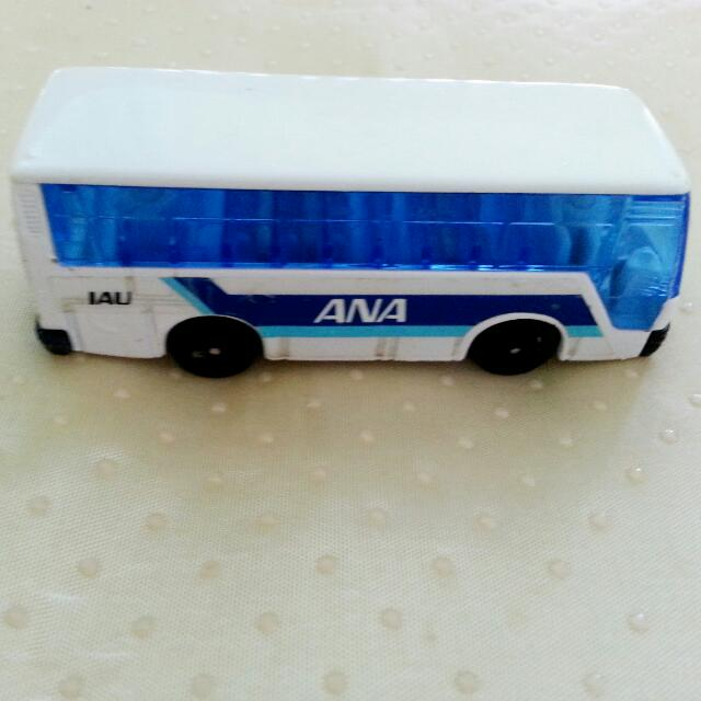 WELLY ANA Bus Miniature Toy Collectibles