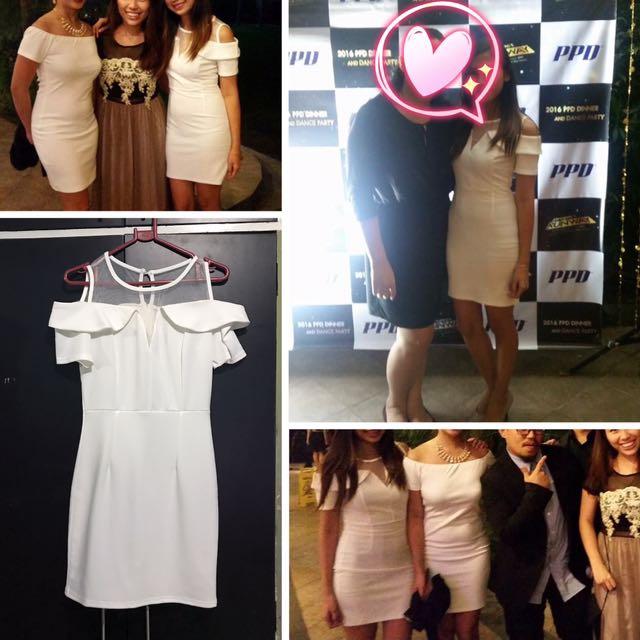 White Short Dress