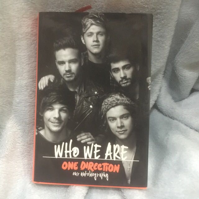 Who We Are Autographed Book