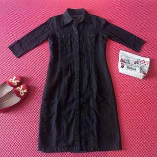 Hammer Midi Dress