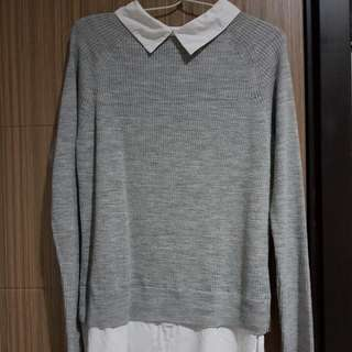 Preloved - STRADIVARIUS Grey Sweater