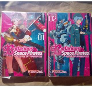 Bodacious Space Pirates manga 1&2 (complete)