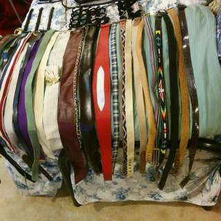 Women's Belts With Hangers
