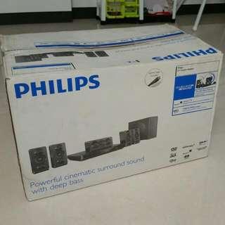 HTB 3510 Philips 5.1 Home Theatre