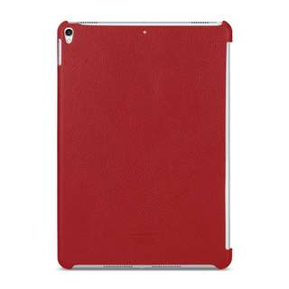 "TETDED Premium Leather Case for Apple iPad Pro 10.5"" (2017) -- CaenA (LC: Red) for Keyboard Connector"