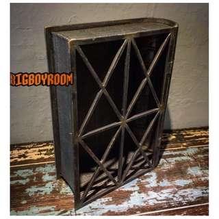 【BIgBoyRoom】工業風家具 Loft家飾書本展示收納模型 擺件古董美式復古紐約 鐵製立體模型 居家裝飾酒吧