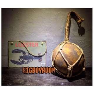 【BIgBoyRoom】工業風家具 Loft 龍蝦與鐵仿銹球鐵 麻繩鐵製美式復古紐約 壁掛居家裝飾攝影道具酒吧咖啡廳