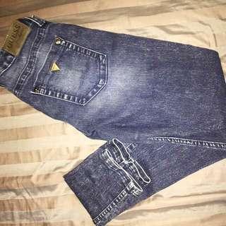 GUESS Dark Wash Jeans - SZ 27