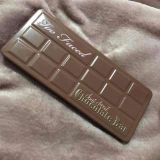 Semi - Sweet Chocolate Bar Palette,Too Faced