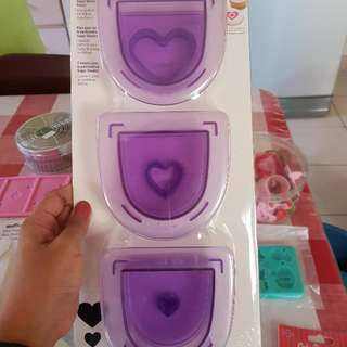 Wiltom Heart Shaped Inserts