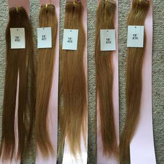 Brand New Real Hair Extension Pieces