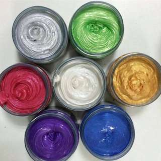 Color Colour Wax Pomade Warna