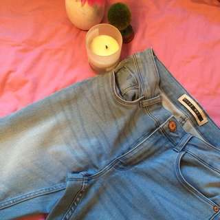 Noisy May Light Wash Denim Jeans