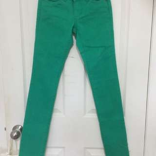 Green Denim