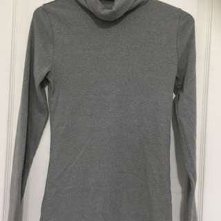 Grey Turtle Neck From Abercrombie