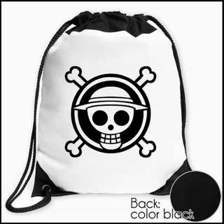 One Piece Drawstring Bag (Anime-themed)