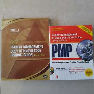 Project Management Professional Study Guides, 2 Books