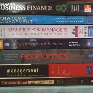 Management,finance,accounting,etc Textbook