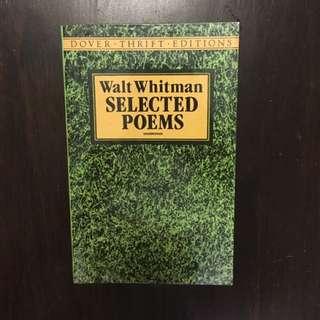 Walt Whitman Selected Poems