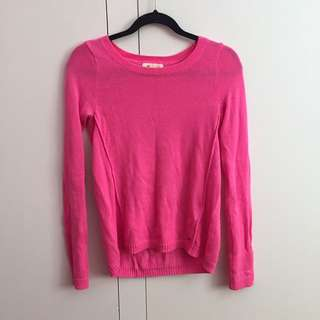 Hollister Pink Jumper