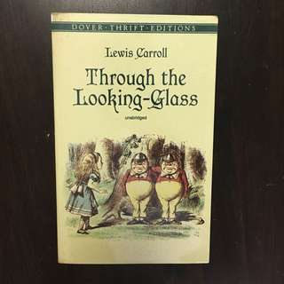 Through The Looking Class By Lewi Carroll