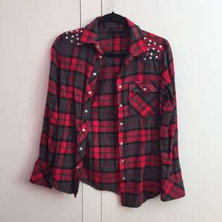 Material World Red Checkered Shirt