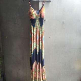 Padded Maxi Dress