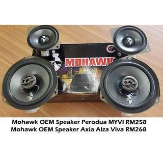 Mohawk OEM Speaker Perodua MYVI ALZA AXIA VIVA