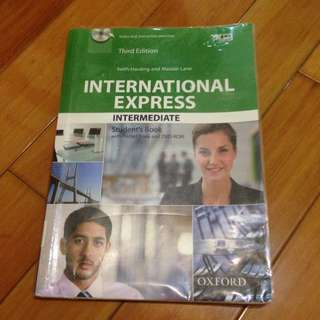 International Express Intermediate#教科書出清